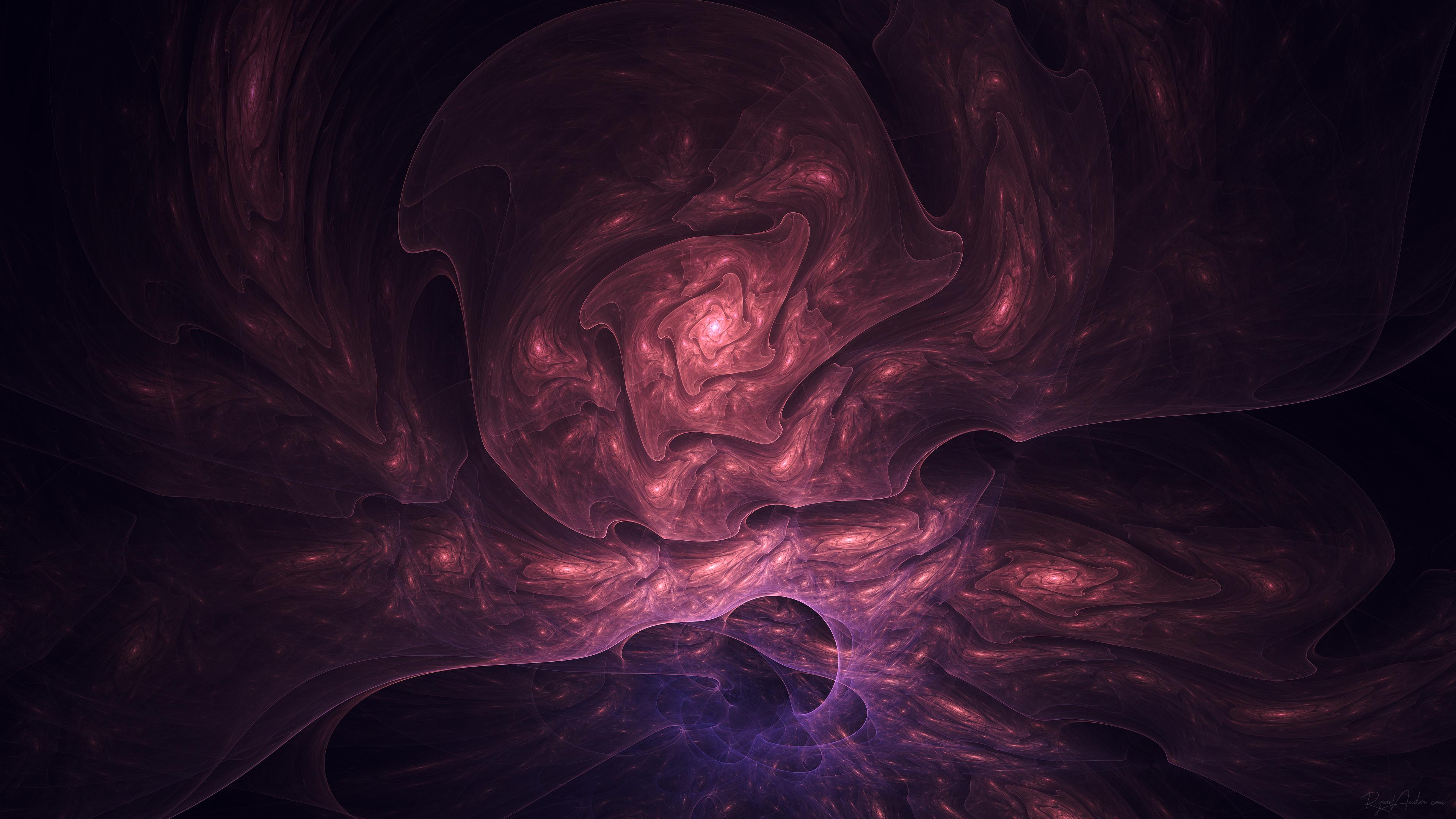 4K fractal wallpaper set
