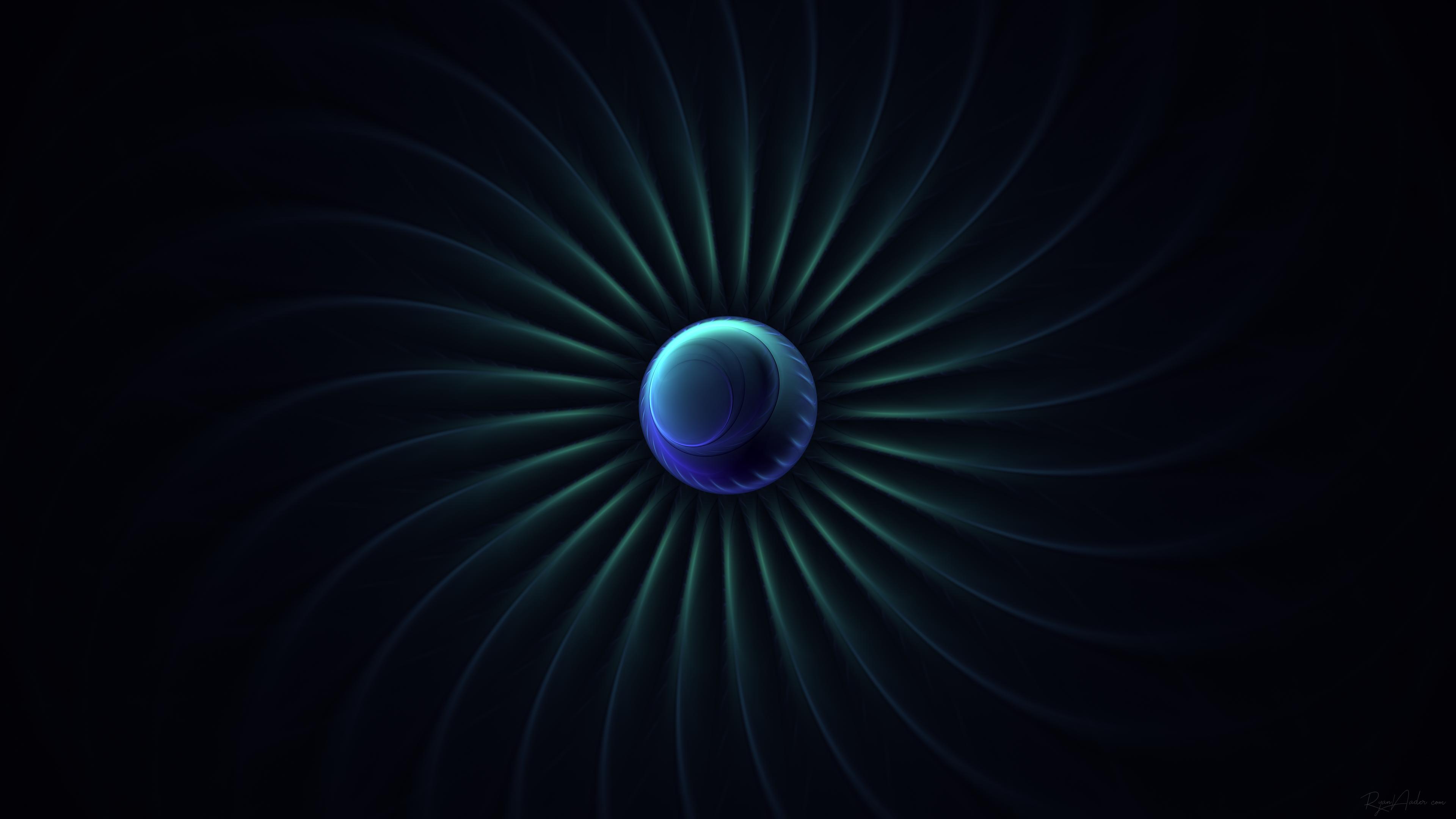 4K fractal wallpaper